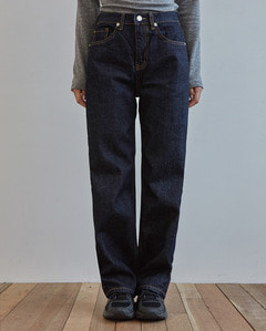 bliss dark denim pants (s, m)