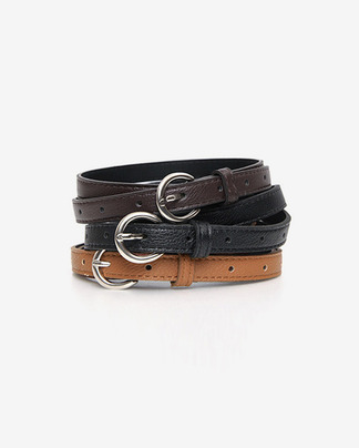 thin daily belt (3 colors)