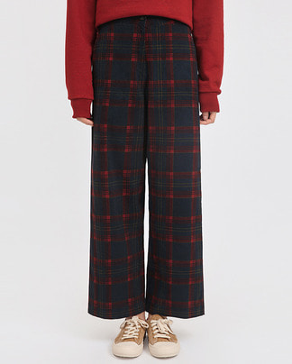 rudolph check pants (s, m)