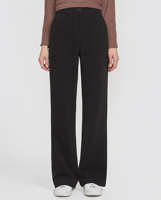 milky semi boots long slacks (s, m)