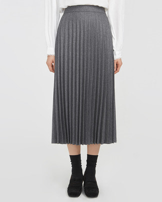 salon pleats skirt