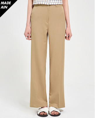 FRESH A natural boots cut slacks (s, m, l)