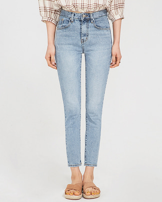 light washing skinny pants (25-29)