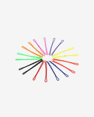 fluorescent color hairpin set