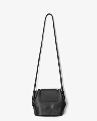 plain real leather bag