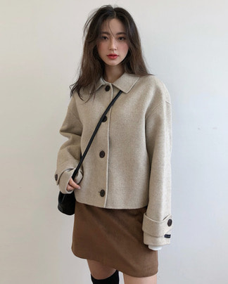 hello handmade jacket (wool90%)