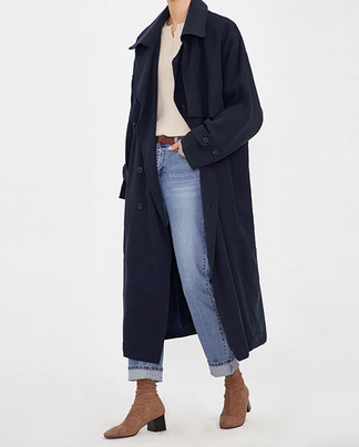 bottega chic trench coat