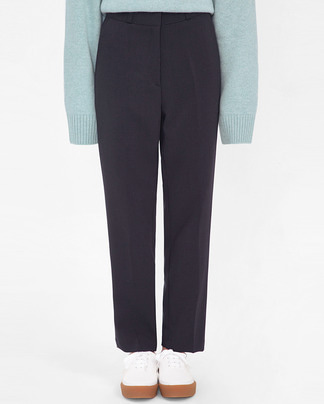 sense straight basic slacks (s, m)