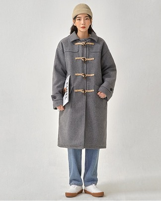 wrinkle duffle coat