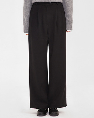 vogue wide slacks (s, m)