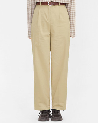 new pintuck cotton pants (s, m)