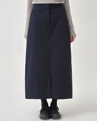 unusual cotton long skirt