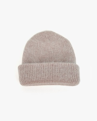colorful angora mini beanie