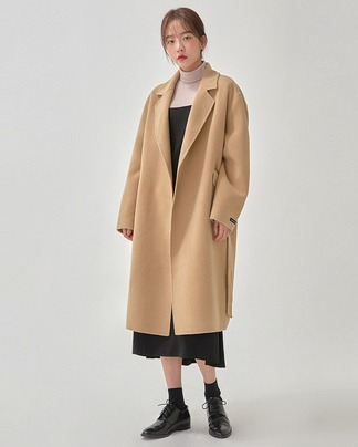 refined handmade coat (wool90%)