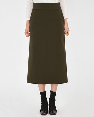 modern formal long skirt (s, m)