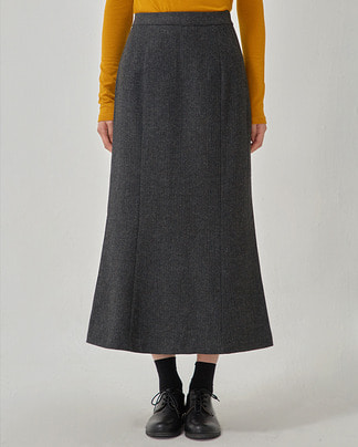 herringbone mermaid skirt (s, m)