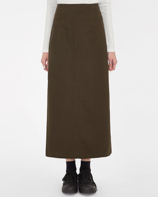 mousse long skirt (s, m)