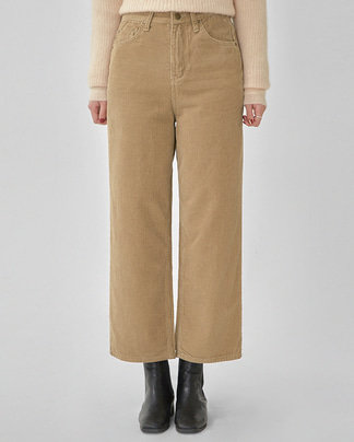 second corduroy crop pants (s, m, l)