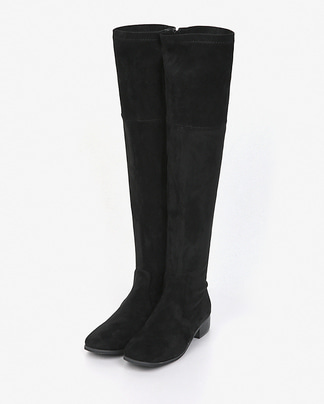 side zipper span long boots (230-250)