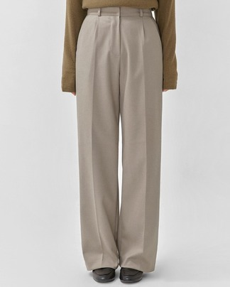basic straight maxi slacks (s, m)