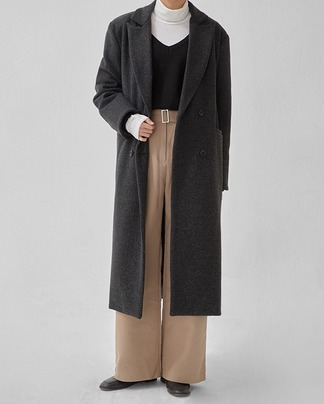 emerge tailored long coat