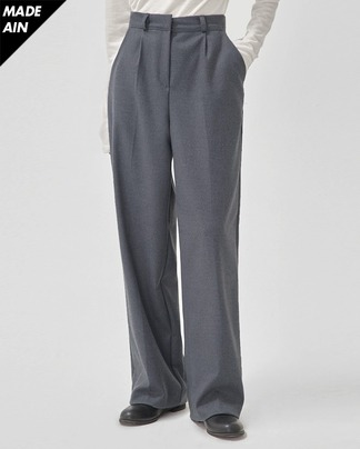 FRESH A warm pintuck slacks (s, m, l)