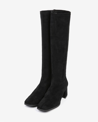 suede middle height boots (225-250)