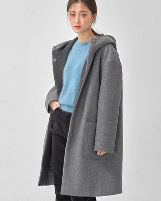 cloud napping hood coat
