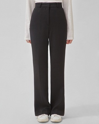 blink semi boots cut slacks (s, m)