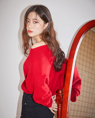 fillip off-shoulder knit