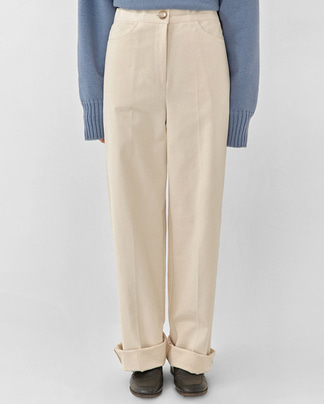 ford wide cotton pants (s, m)