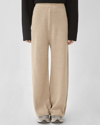 someday wool knit pants