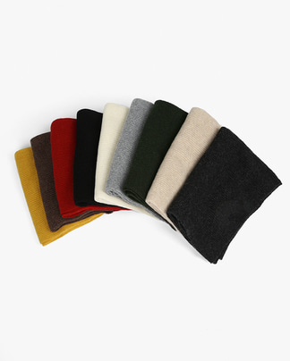 uni wool knit muffler