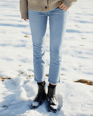 snow light napping denim pants (s-xl)