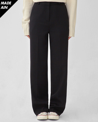 FRESH A warm loose fit slacks (s, m, l)