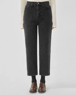 somber straight denim pants (s, m)