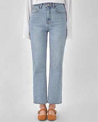 speak non span boot-cut denim pants (s, m)