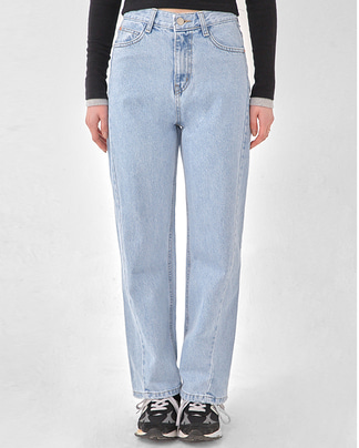 two line denim pants (s, m, l)