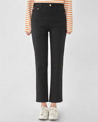 simply straight cotton pants (s, m, l)