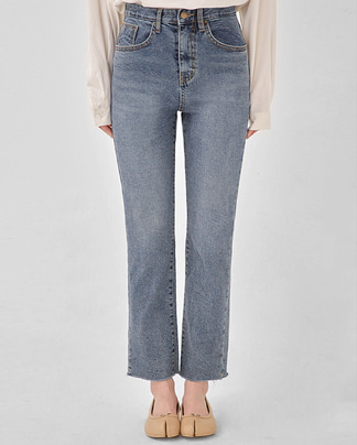 kicking straight denim pants (s, m, l)