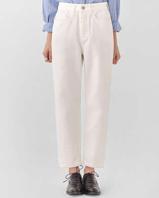 sofa straight cotton pants (s, m, l)